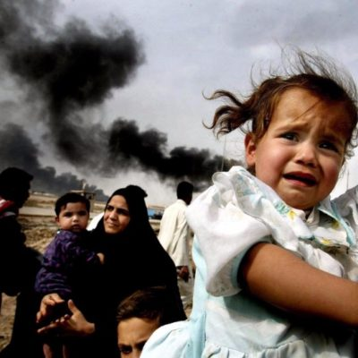 The pain of Syrian Children