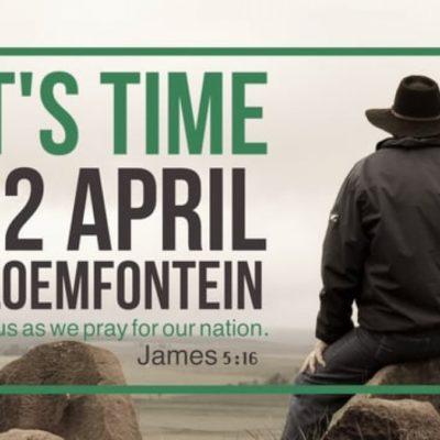 It's Time – 22 April 2017