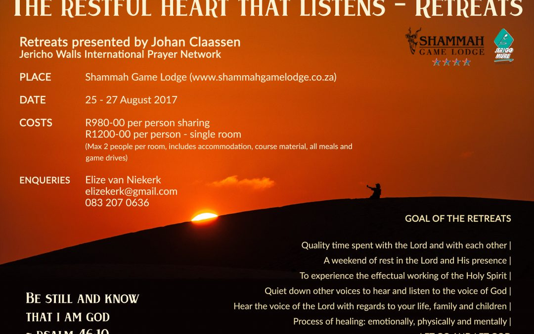 Retreat – The restful heart that listens