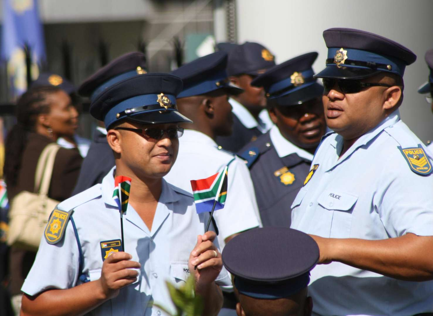 Hope for the South African Police Service