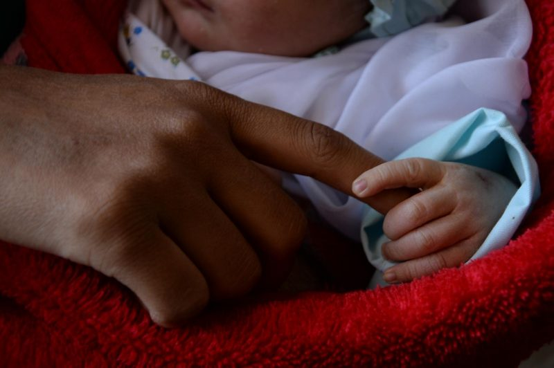 Refugee babies
