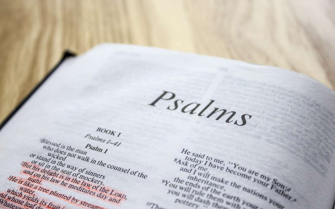 Using the Bible in prayer