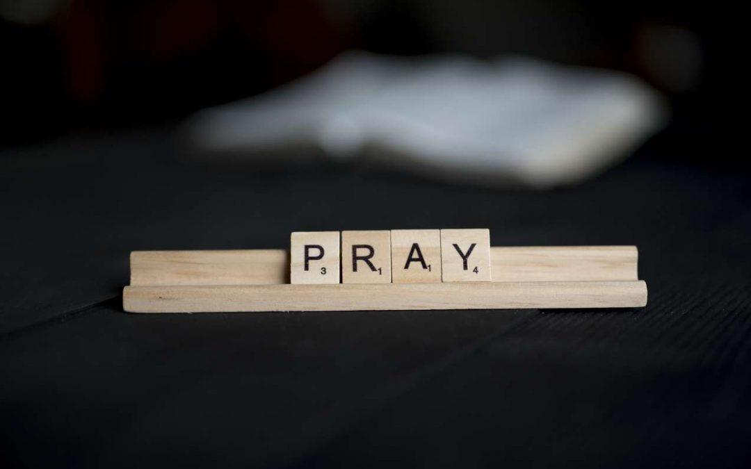 Focus in prayer