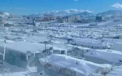 Storm Norma in the Bekaa Refugee Camps