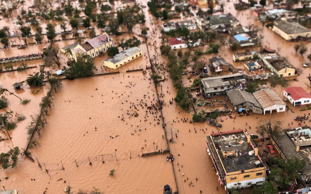 Flood disaster in Southern Africa
