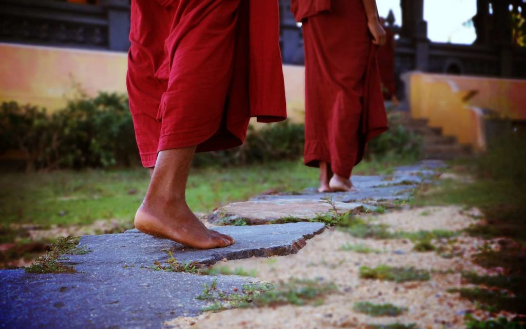 Buddhist monks turn to Jesus
