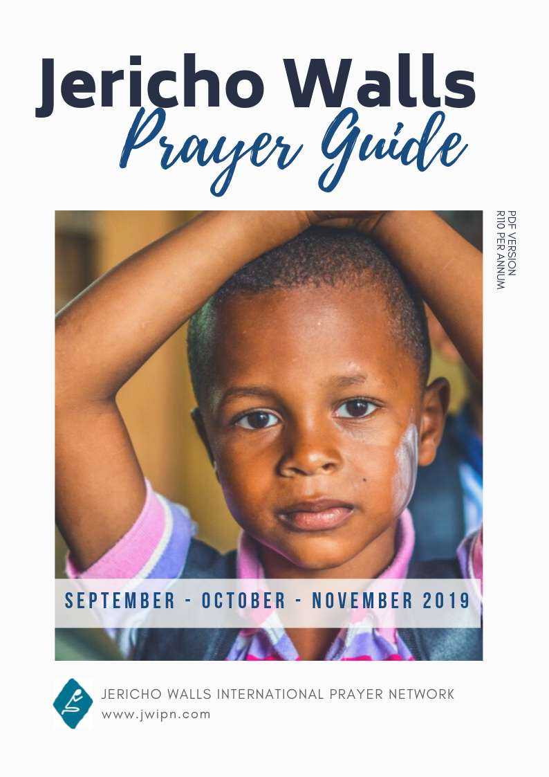 Daily Prayer Guide - Jericho Walls