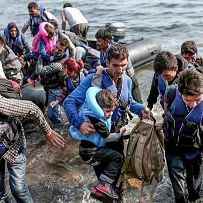 Greece may not want refugees, but God does