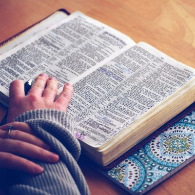 She started to study the Bible