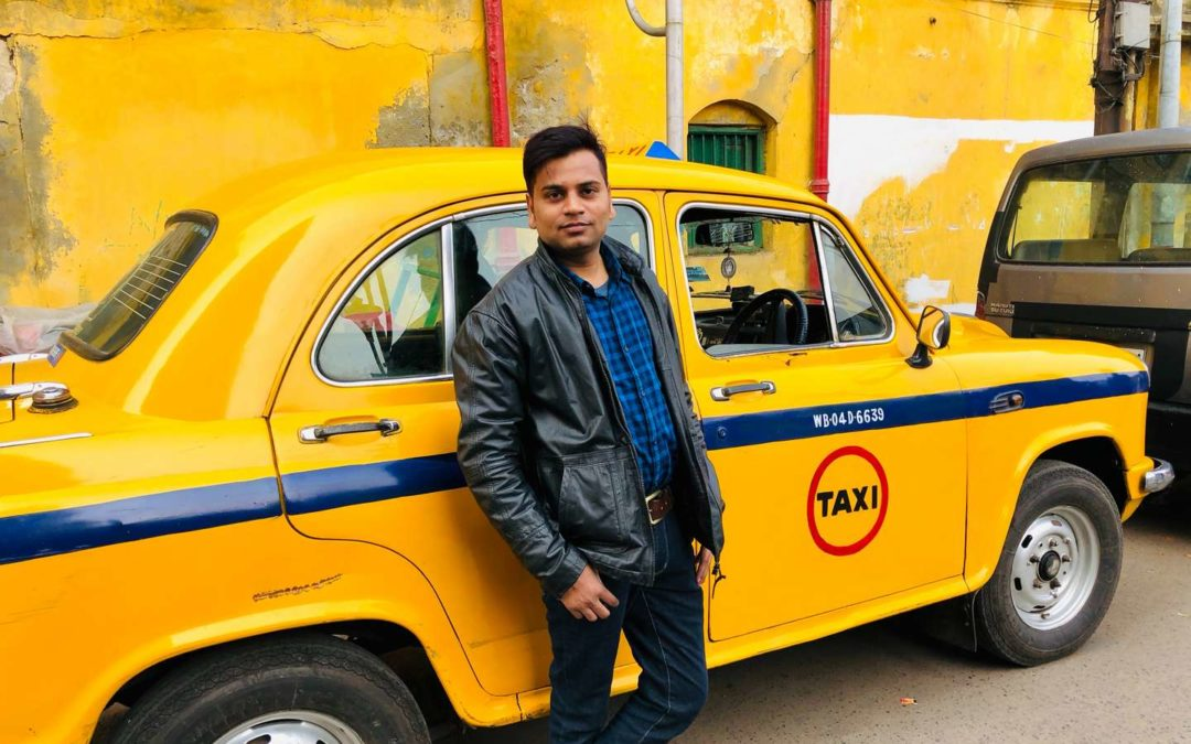 Taxi driver with a searching heart